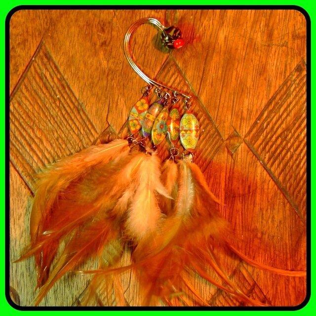 羽根のイヤーカフ(右耳用)の画像1枚目