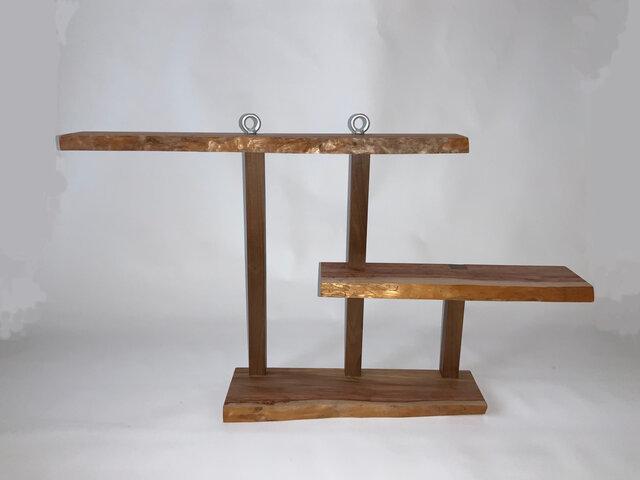 木製吊り棚の画像1枚目
