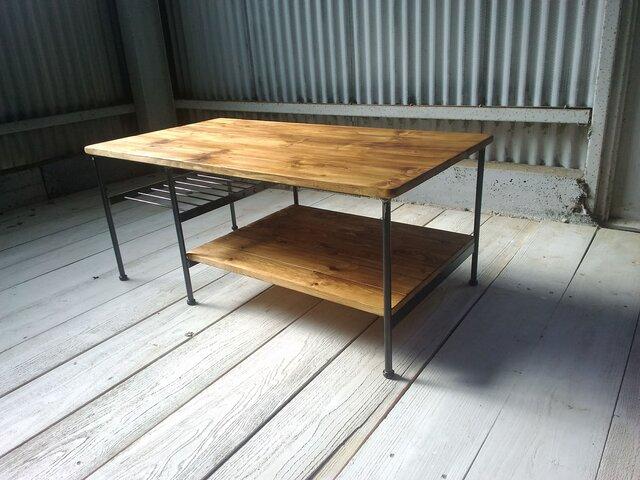 【展示作品】リビングソファローテーブル(ホワンホワン様仕様)の画像1枚目