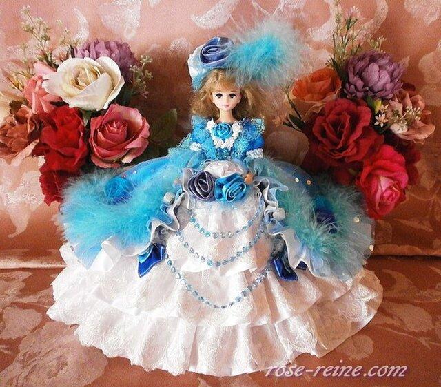 ブルーローズ 煌めきの王妃 クリスタルドールドレスの画像1枚目