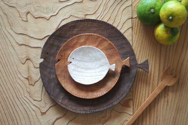 魚皿 (3枚セット)の画像1枚目