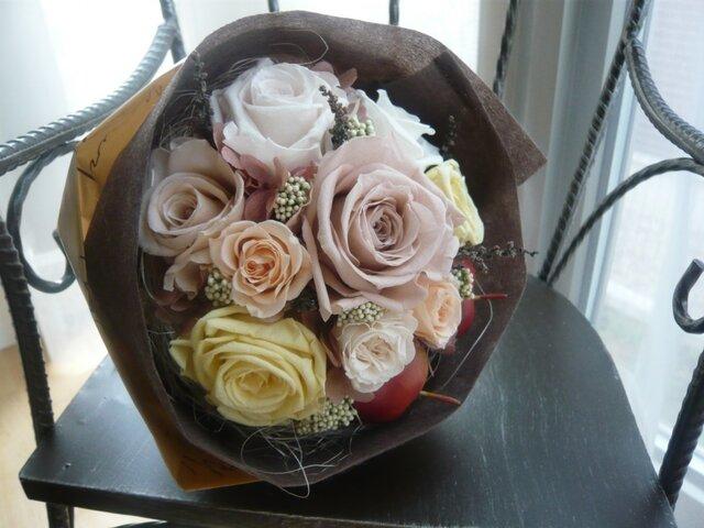 pre-flower bouquet♡P-1(Sample)の画像1枚目
