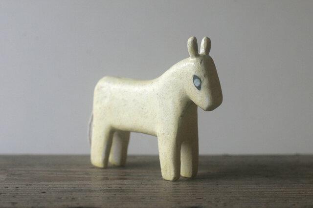 馬◦出来人形◦立◦191101の画像1枚目