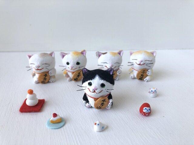 招かない猫さん 白黒の画像1枚目