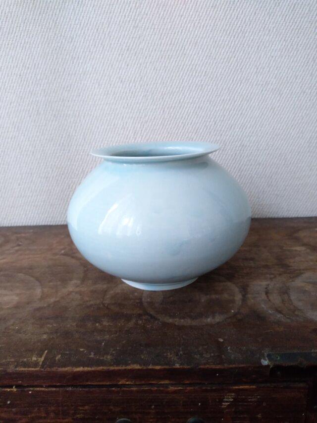 磁器 花瓶の画像1枚目