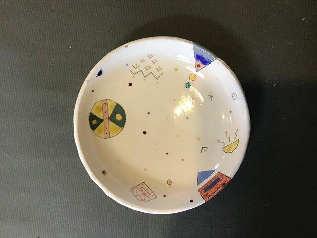 イロアソビ  丸皿の画像1枚目
