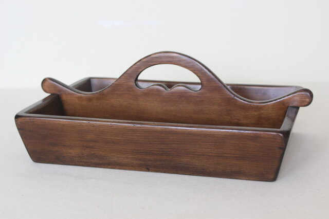 アンティークカントリースタイルのカトラリーケース No.1934の画像1枚目