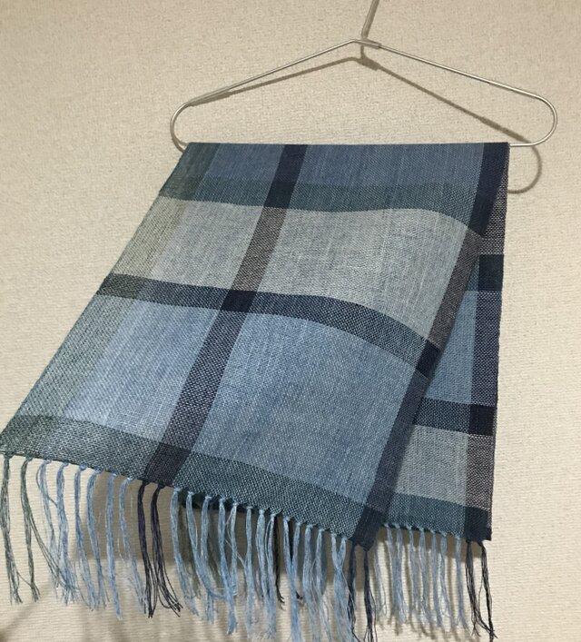 手織りストール A44の画像1枚目