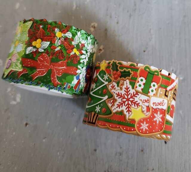 クリスマスmaskingtape  (マスキングテープ) 2set  の画像1枚目