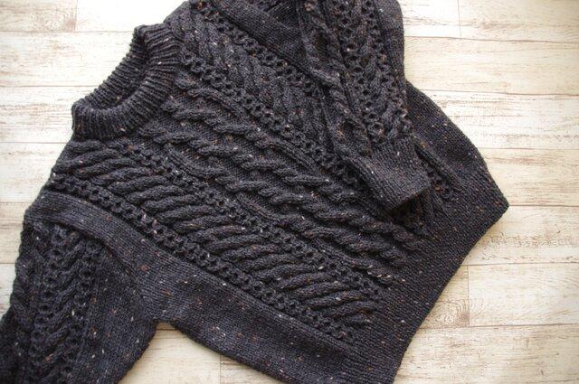 アランセーター・アラン模様のセーター・セーター・アラン模様の画像1枚目