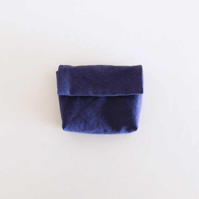 きちんとポーチ M  /  purpleblueの画像1枚目