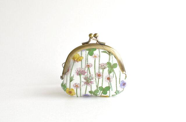 {Liberty} 花柄がまぐちコインケース(S) - Josephine's Daisies / Y〔159〕の画像1枚目
