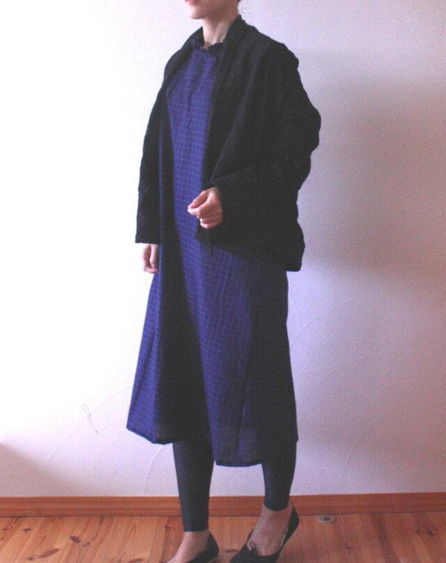 コットンウール 羽織カーデの画像1枚目