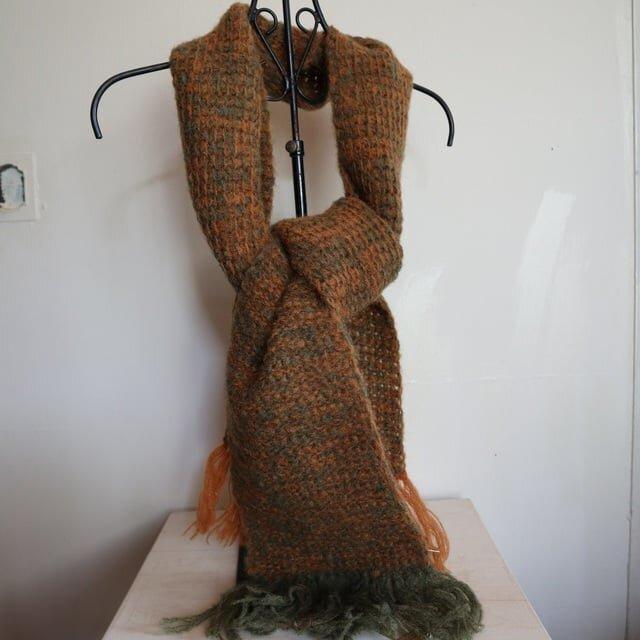 手編みストール(s-7)の画像1枚目