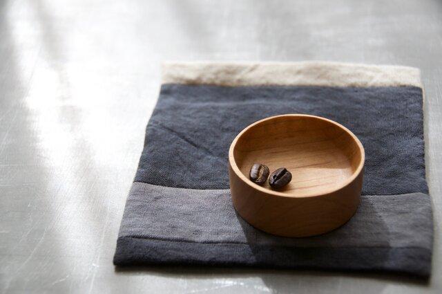 豆まめ皿 丸 【山桜】の画像1枚目