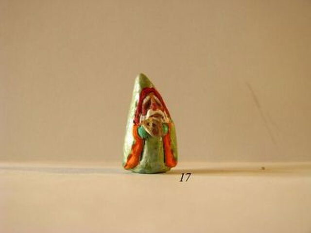 小さな小さなサンタクロース 17(ハリネズミ)の画像1枚目