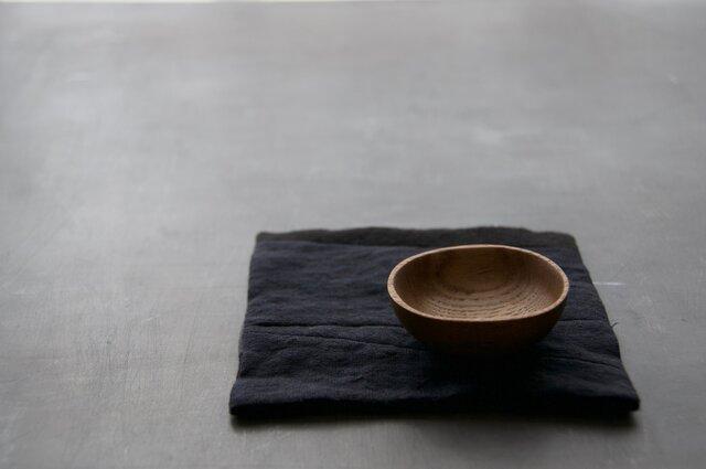 豆まめ皿 角丸 【キハダ】の画像1枚目