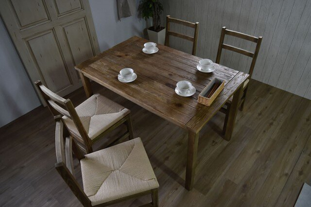 Old Pine Dining Tableの画像1枚目