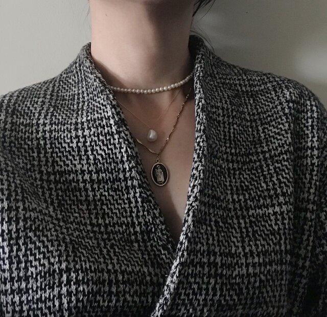 barocco pearl necklaceの画像1枚目