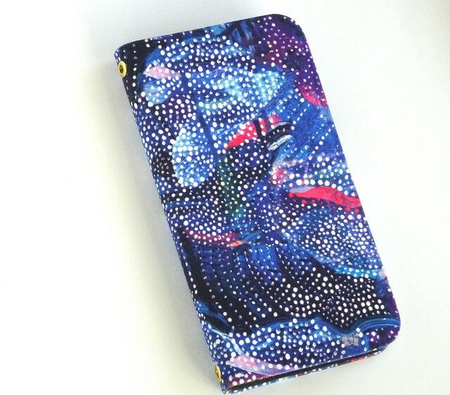 他機種製作可 『リバティiphone 11 ケース (コズミック スター)』 iphone8, iphone7 の画像1枚目