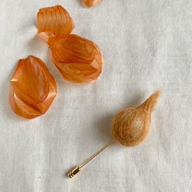 玉ねぎのハッピーブローチの画像1枚目