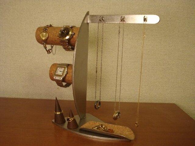 クリスマス プレゼント 腕時計、指輪、ネックレス、小物入れ、アクセサリーディスプレイスタンド ak-design の画像1枚目