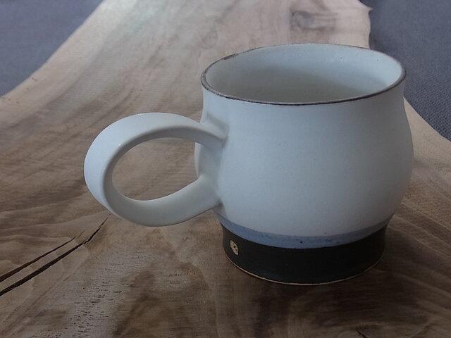 マグカップ 白マットの画像1枚目