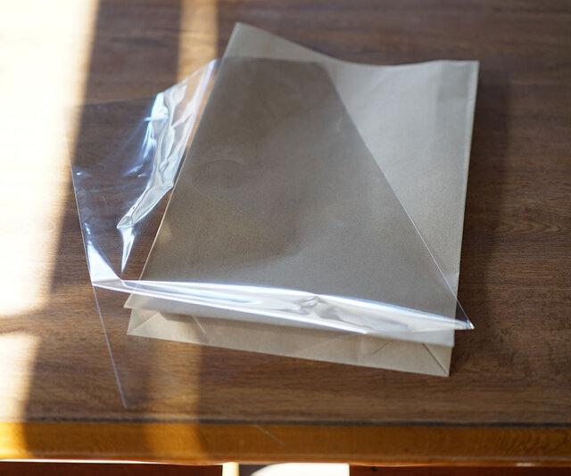 OPP袋(プラスチック袋)で梱包の画像1枚目