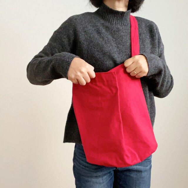 チューリップバッグ レッド(Tulip Bag Red)の画像1枚目