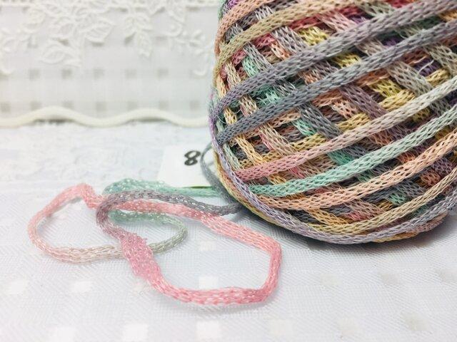 ⑧手染め糸♬31g段染めナイロンリリヤンの画像1枚目