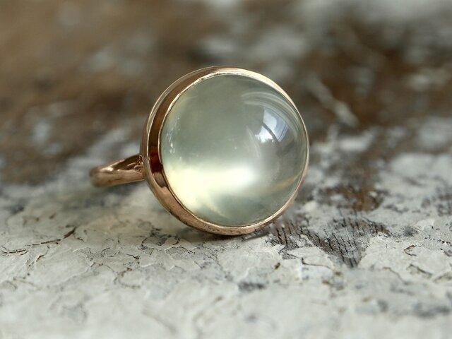 K10[月兎のムーンストーン]ringの画像1枚目