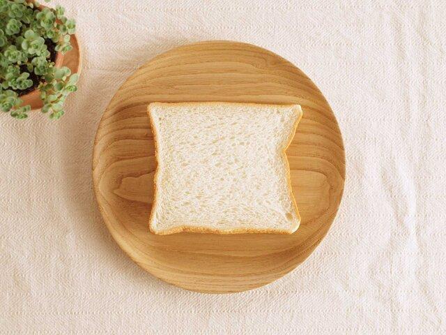 木製 パン皿 栗材2の画像1枚目