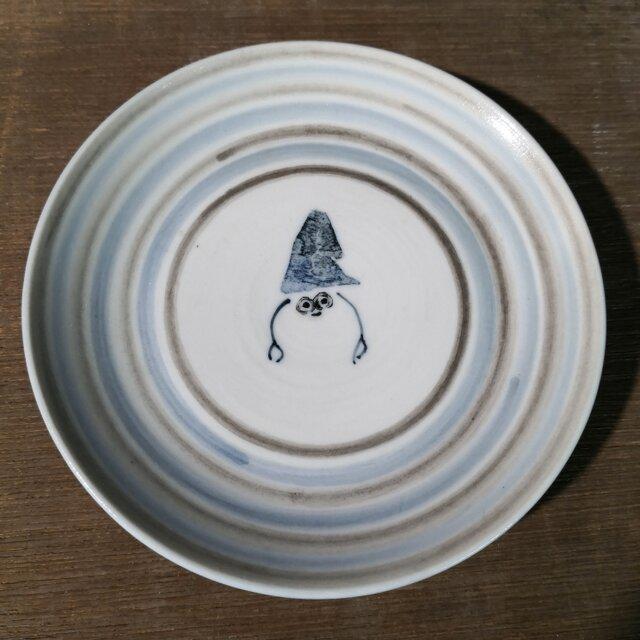 4寸皿(ヤドカリ)の画像1枚目