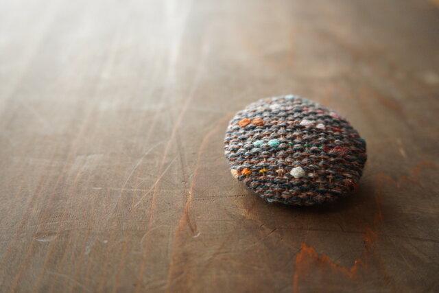手織りのブローチの画像1枚目