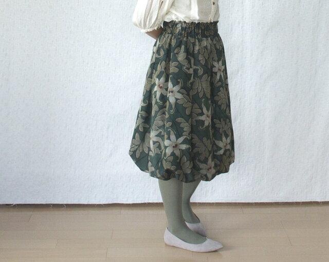 銘仙のバルーンスカートの画像1枚目