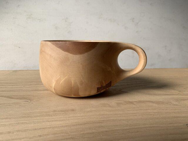 トチの木のマグカップ  #2の画像1枚目