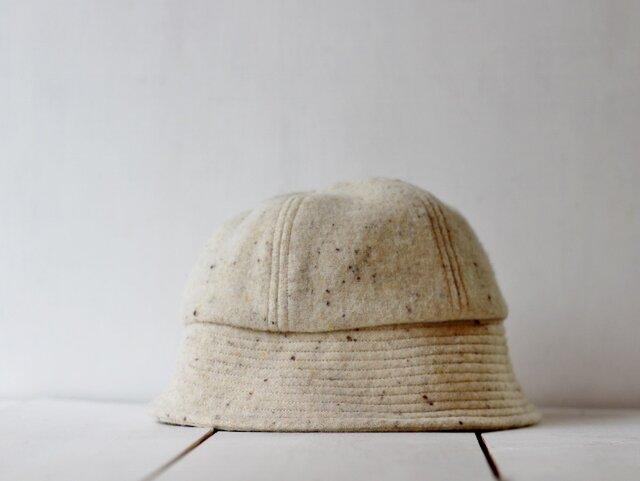 SAILOR HAT | WOOLTWEED c/#MILK【M:56~59cm】の画像1枚目