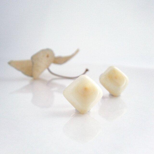 k10✼Makkoh pierced earrings 92055の画像1枚目