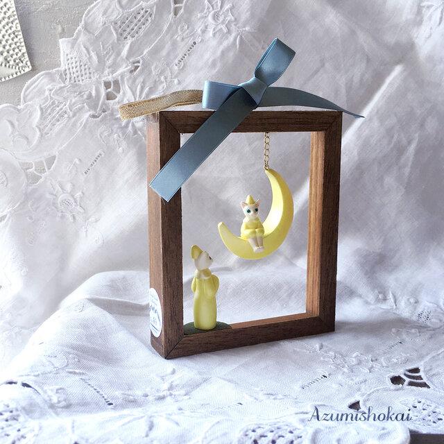 木枠のメルヘン✧お母さんがみてるの画像1枚目