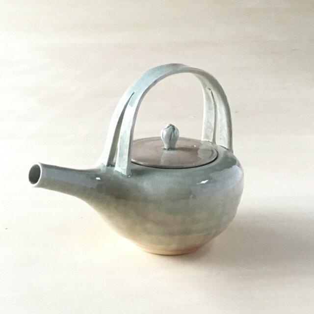 酒器 陶製 燗鍋の画像1枚目