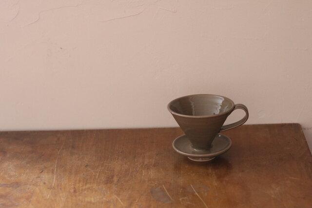 陶器のコーヒードリッパーの画像1枚目