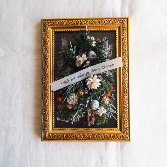 額Arrangement*Christmas Treeの画像1枚目