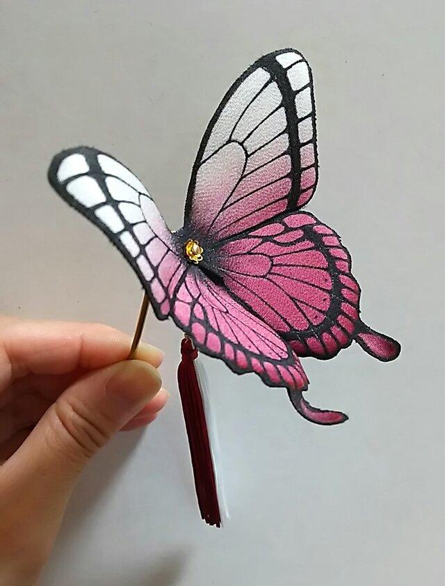 Tsukina様オーダー分 蝶のかんざしの画像1枚目