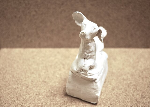 犬のアロマストーン小箱 04の画像1枚目