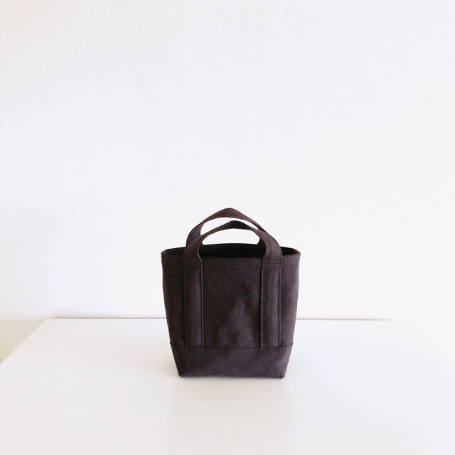 TOTE BAG (S) / chocolateの画像1枚目