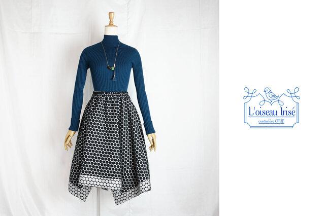 シルバードットのイレギュラースカートの画像1枚目
