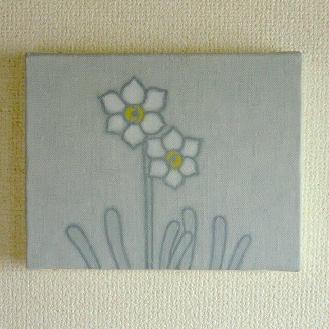 【原画】花は少女(ニホンスイセン)の画像1枚目