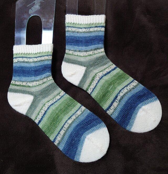 手編み靴下 opal 9515の画像1枚目