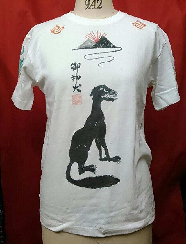 狼Tシャツの画像1枚目