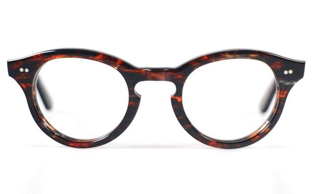 手作りセルロイド眼鏡T-033-HHの画像1枚目